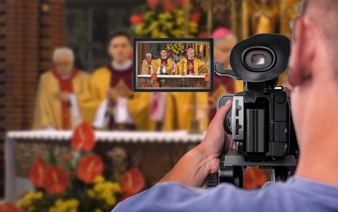 Katedra, operator kamery